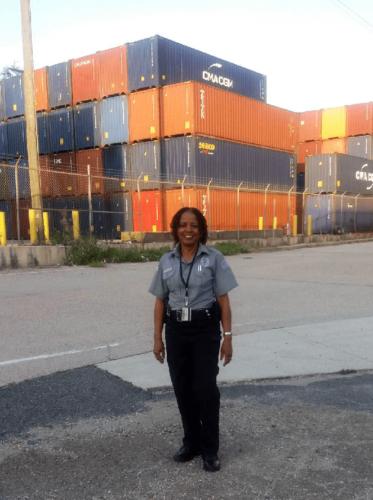 Peggy Calixte, Spotlight Officer for July 2018
